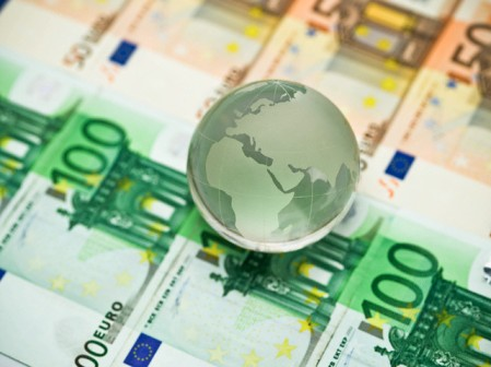 Translucent Globe on Euros